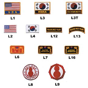 Patches, Flags, Mouthguards and more
