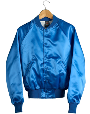Satin Baseball Jacket